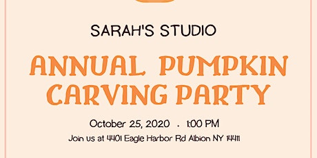 ANNUAL PUMPKIN CARVING PARTY tickets