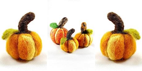 Virtual Felted Pumpkins Workshop tickets