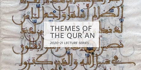 Lecture Series: Themes Of The Qurʾān (SINGLE SESSION REGISTRATION - Online) tickets