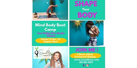 Mind Body Fitness Boot Camp tickets
