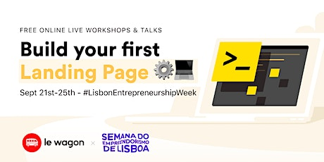 Entrepreneurship Week - HTML, CSS and Design Workshops bilhetes