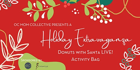 Donuts with Santa LIVE Activity Bags ingressos
