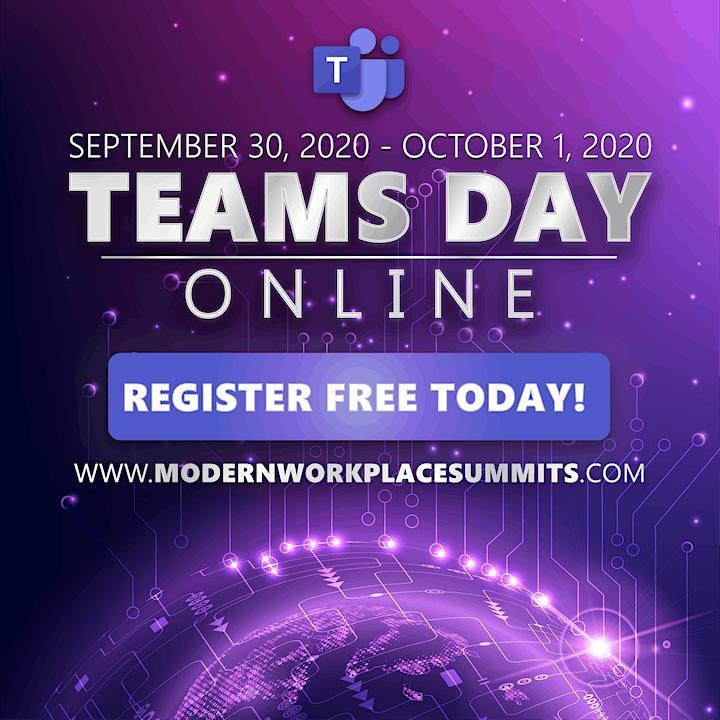 Microsoft Teams Day Online image