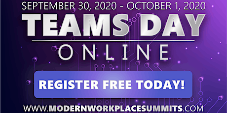 Microsoft Teams Day Online tickets
