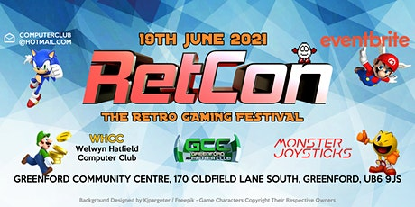 RetCon - The Retro Gaming Festival 2021 tickets