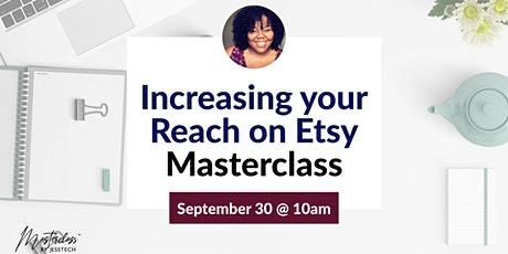 Increasing your reach on Etsy tickets