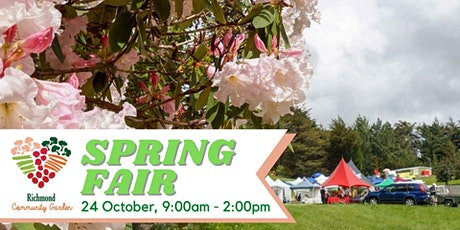 Richmond Community Garden Spring Fair tickets