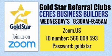 Ceres Business Builders tickets