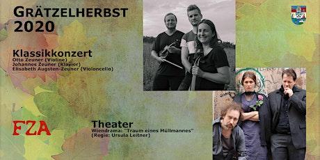 Grätzelherbst 2020: Kulturabend Konzert&Theater Tickets