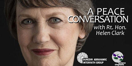A Peace Conversation with Rt Hon Helen Clark tickets