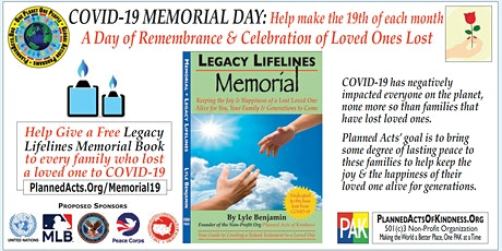 COVID-19 MEMORIAL DAY tickets