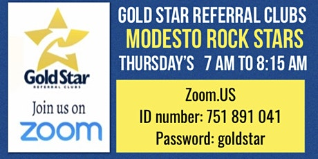 Modesto Referral Rock Stars tickets