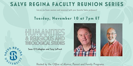 Salve Regina Faculty Reunion Series: Humanities, Religion & Theology tickets