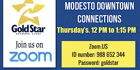 Modesto Downtown Connections tickets