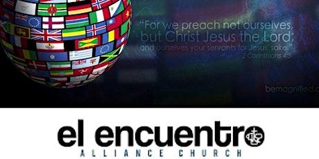 Iglesia El Encuentro Alliance tickets