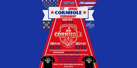 Cornhole Tournament - VFW Midland tickets