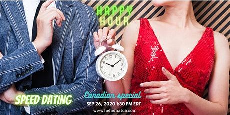 Speed Dating --- Special Love at Special Times (4/8 - Canadian special) tickets