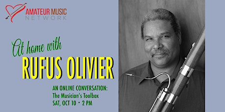 At Home with Rufus Olivier tickets