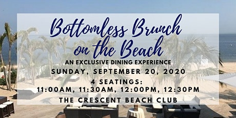 Bottomless Brunch on the Beach (Sunday 9/20) tickets
