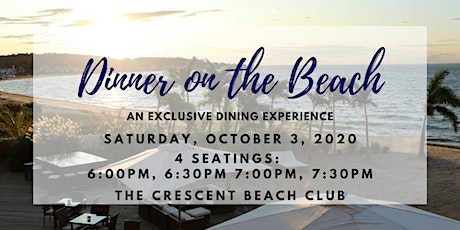Dinner on the Beach (Saturday 10/3) tickets