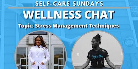 Self-Care Sundays: WELLNESS CHAT tickets