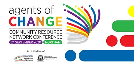 Agents of Change - Community Resource Network Conference tickets