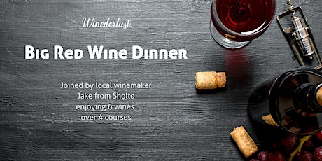 Big Red Wine Dinner Event tickets