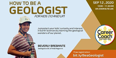 How to be a Geologist (For Kids 10 and up) Tickets