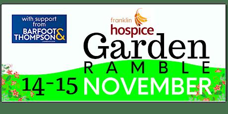 Franklin Hospice Garden Ramble 2020 tickets