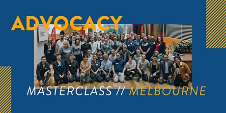 Advocacy Masterclass - Melbourne tickets