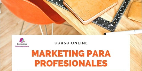CURSO ONLINE MARKETING PARA PROFESIONALES entradas