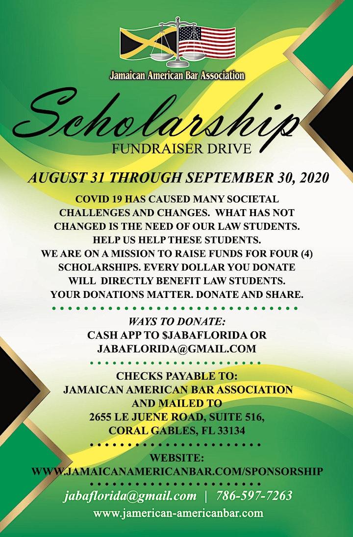 Jamaican American Bar Association Scholarship Drive image