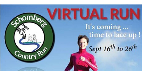 10th Anniversary  Annual Schomberg Country Virtual Run tickets