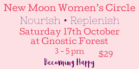New Moon Women's Circle - October 17th tickets