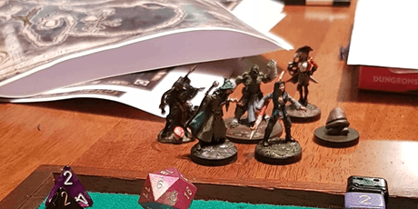 Dungeons and Dragons @ Bankstown Library & Knowledge Centre 12-18 years Old tickets