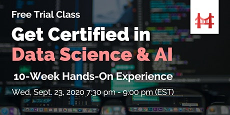 Data Science & AI Applications Course by TechBridger tickets
