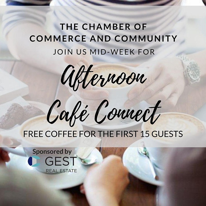 Afternoon Cafe Connect with the Chamber October 2020 image
