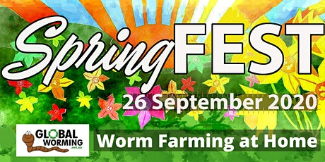 SpringFEST: Worm farming at home with Global Worming (Talk 1 of 2) tickets
