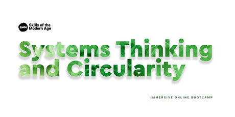 Systems Thinking and Circularity bilhetes