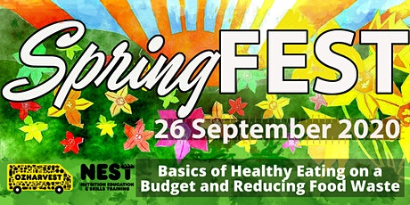 SpringFEST: Basics of Healthy Eating on a Budget & Reducing Food Waste tickets