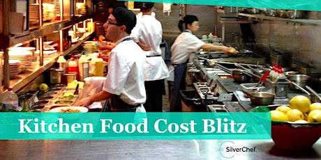 Kitchen Food Cost Blitz tickets