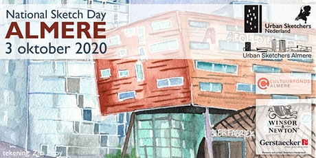 National Sketch Day Almere - 3 oktober 2020 - Urban Sketchers Netherlands tickets
