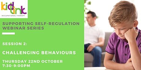 Session 2 of 5- Challenging Behaviours tickets