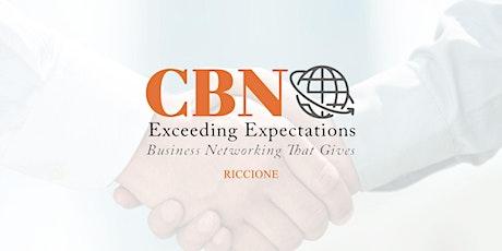 CBN Riccione on-line - creiamo rete d'impresa - Settembre 2020 biglietti