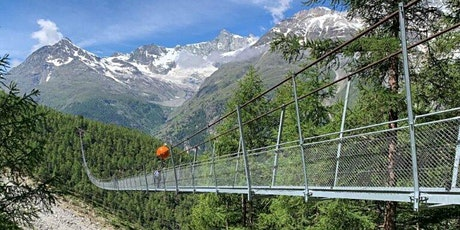 Hike to the world's longest suspension Bridge in Randa billets