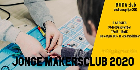 Jonge Makers Club // Wearables en SMD solderen tickets