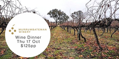 Murrumbateman Winery Dinner tickets