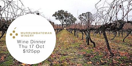 Murrumbateman Winery Dinner tickets
