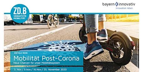 Mobilität Post-Corona - Neue Chancen für unser Mobilitätssystem | Teil 1 Tickets