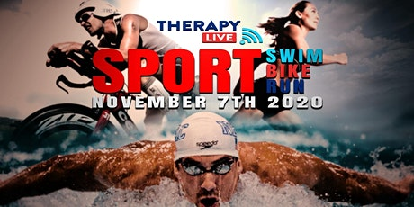 Therapy Live Sport - Swim Bike Run bilhetes